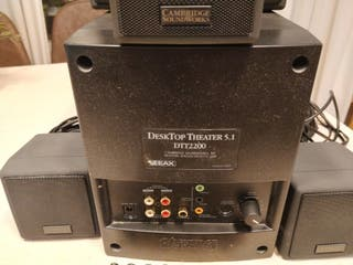 Cambridge Soundworks DTT2200 5.1 + DAC