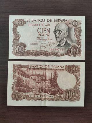 Vendo billetes antiguos