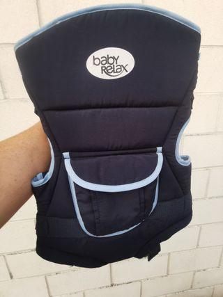 mochila o arnés porta bebés.