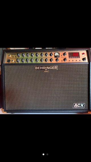 Amplificador guitarra y voz behringer acx1000