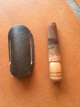 Pinza de madera profesional para joyería