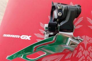 Desviador Delantero Shimano SLX FD-M661-10, 34.9mm