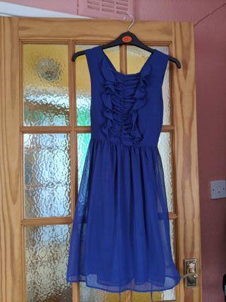 Blue Ruffles Dress