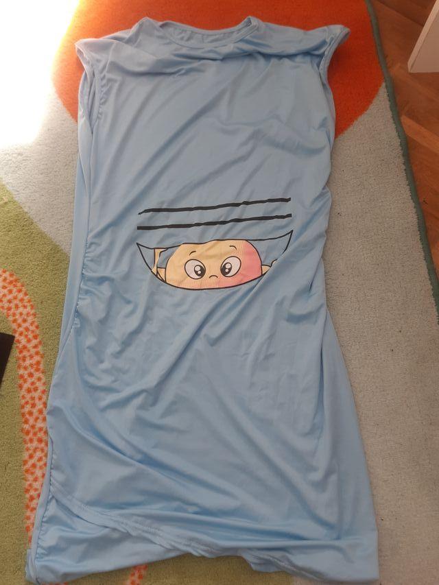 camisón lycra embarazada. Talla unica