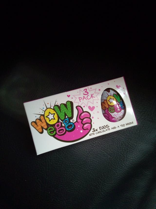child's new and sealed WOW EGG X3 pack *safe* kids