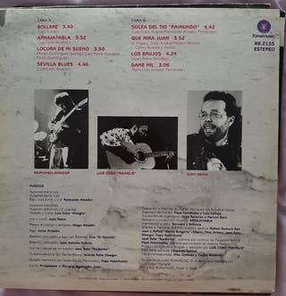 LP ARRAJATABLA (Raimundo Amador y Luis Cobo Mangli