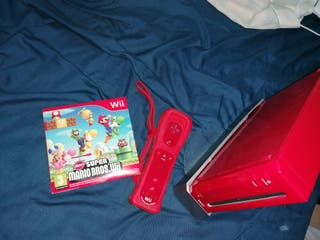 Consola Wii Roja