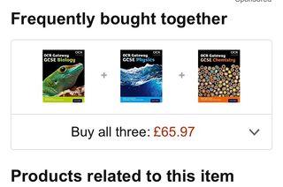 OCR GCSE science textbooks