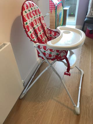 Mothercare highchair apples