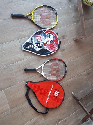 Raquetas de tenis niños
