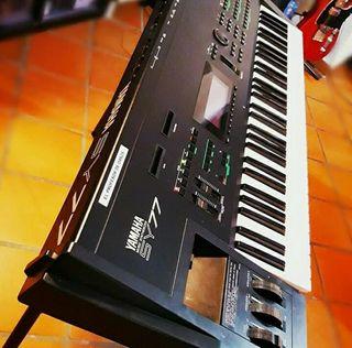 Cambio sintetizador Yamaha SY77