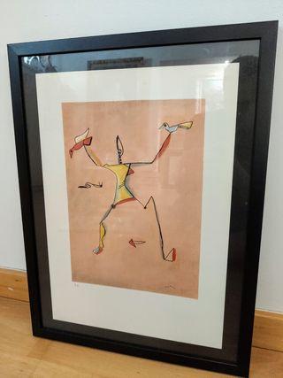 2 litografias JULI RAMIS Litografia firmadas