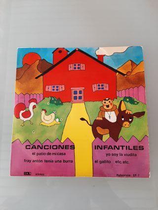 Disco Vinilo Canciones Infantiles