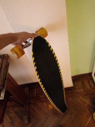 longboard manual restaurada carving (soy Antony)