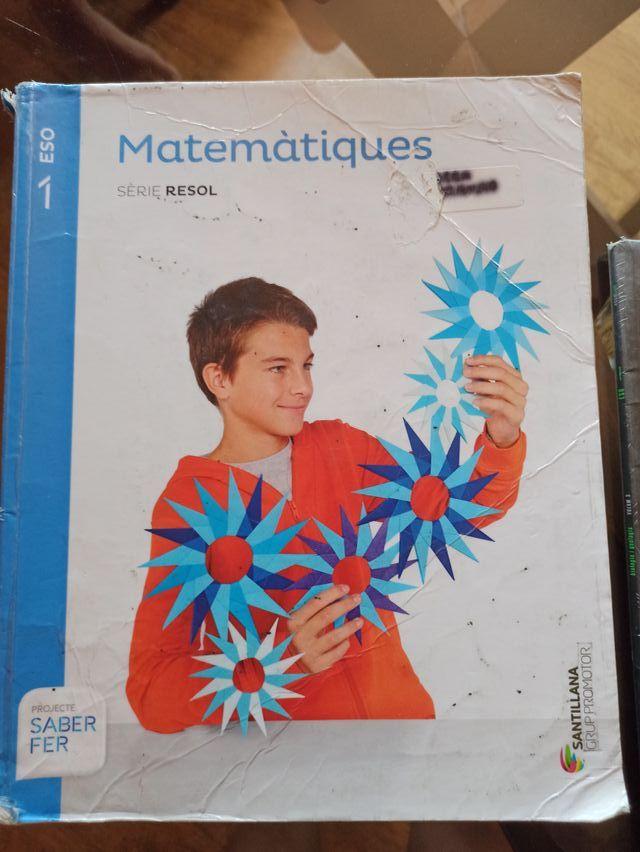 matemàtiques 1ESO Santillana