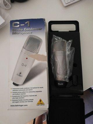 micrófono grabación