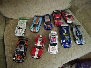 coches slot distintas marcas