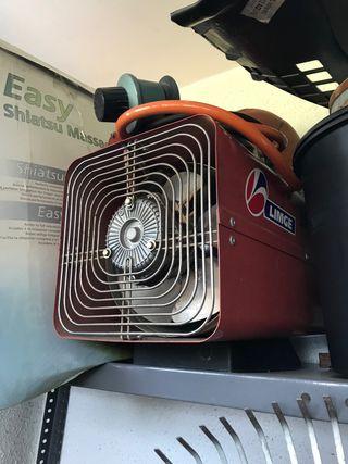 Calentador de aire caliente.