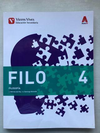 Filosofía 4 ESO Ed.: Vicens Vives