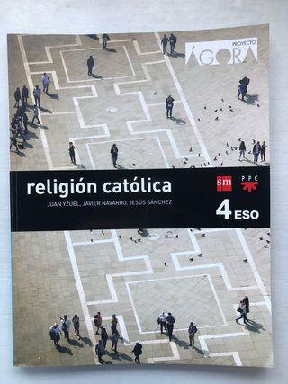 Libro Religión Católica 4 ESO Ed.: SM