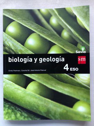 Biología y Geología 4 ESO Ed.: SM