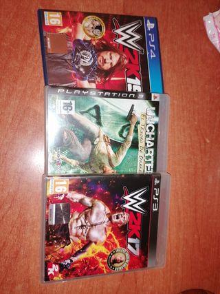 juegos de la PS4 y ps3