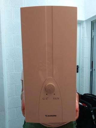 calentador eléctrico junkers instantaneo