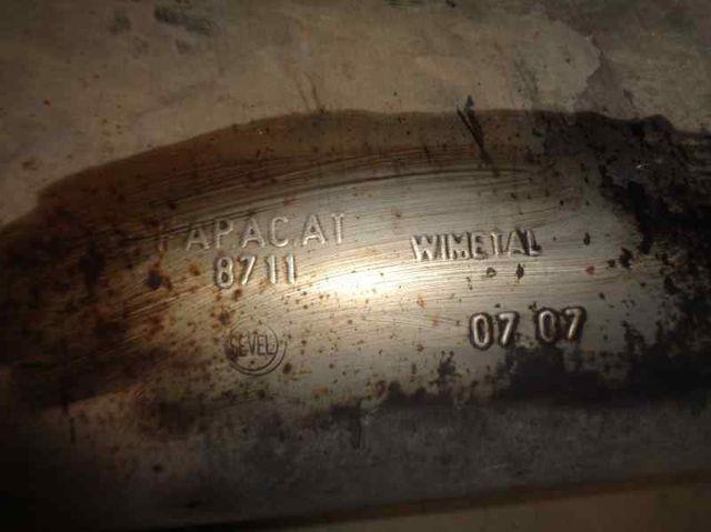 2780622 Tubo escape completo FIAT scudo combi