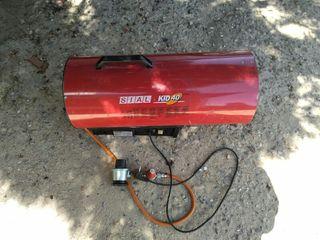 cañón calefactor a gas