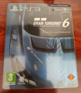 Gran Turismo 6 Edicion Coleccionista SteelBook