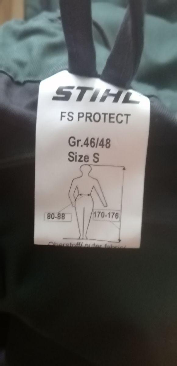Pantalón STIHL para desbrozar talla S