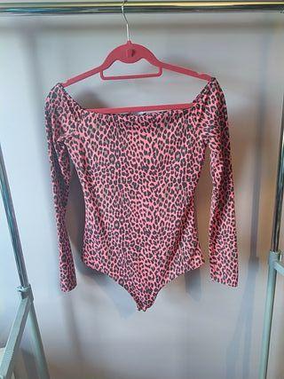 Body leopardo rojo