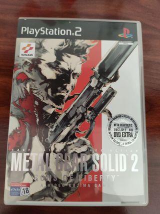 Metal Gear Solid 2 - PS2