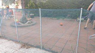 Valla piscina proteccion niños, bebés, animales