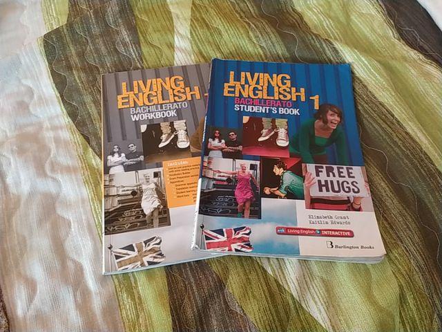 Libros Living English 1 1° Bachillerato
