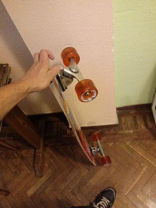 Longboard restaurado gull wing trucks (soy Antony)