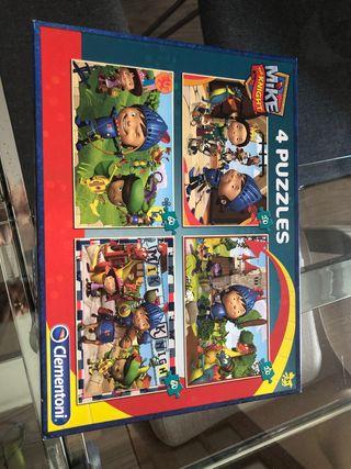 Puzzle Infantil Mike el Caballero