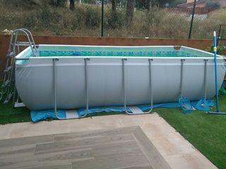 Rebaja piscina Bestway 4'04x2'01x1 con lote