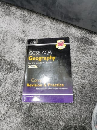 gcse AQA Geography revision book