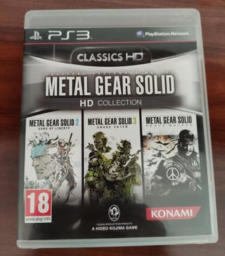 Metal Gear Solid Collection HD PS3