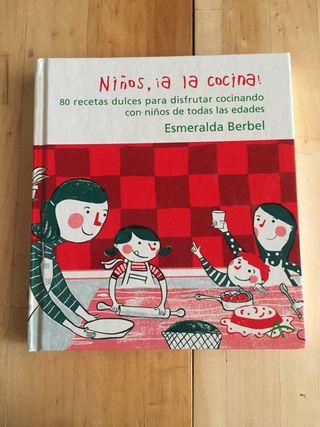 """Libro cocina """"Niños, a la cocina!"""""""