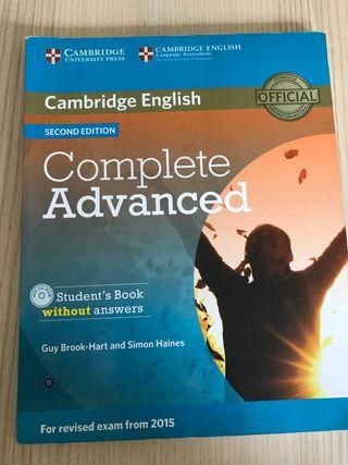 Complete Advanced. Incluye CD.