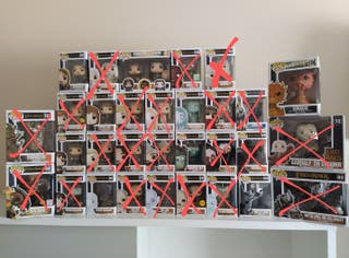 Set Lord of the Rings Funko Pop