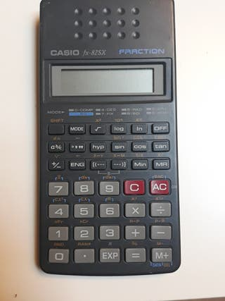 Casi fx-825x Fraction