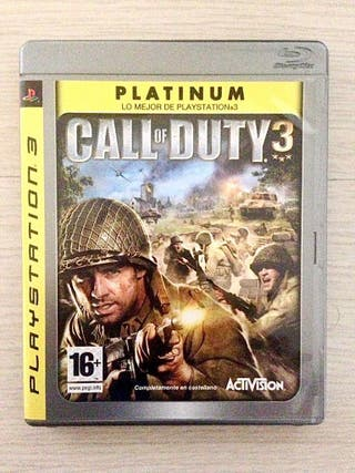 Call of Duty 3 (PS3 Platinum)