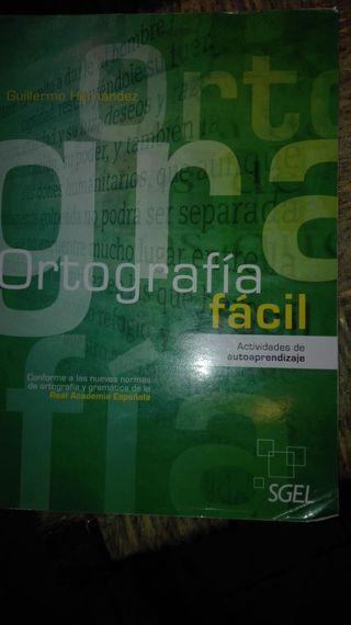 Libro de ortografía fácil