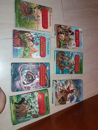 LIBROS de colección de GERONIMO STILTON