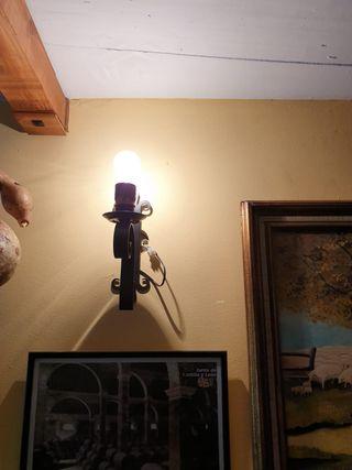 lampara de bodega y apliques