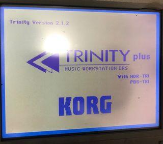 Sintetizador KORG Trinity Plus 61