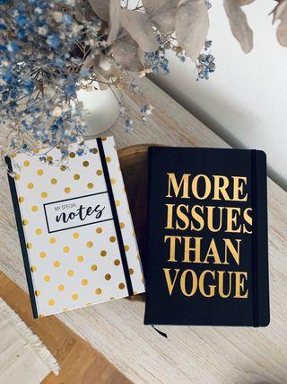 2 x cuadernos